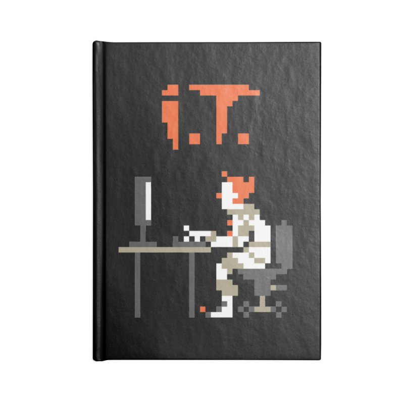 I.T. Accessories Lined Journal Notebook by Mantichore Design