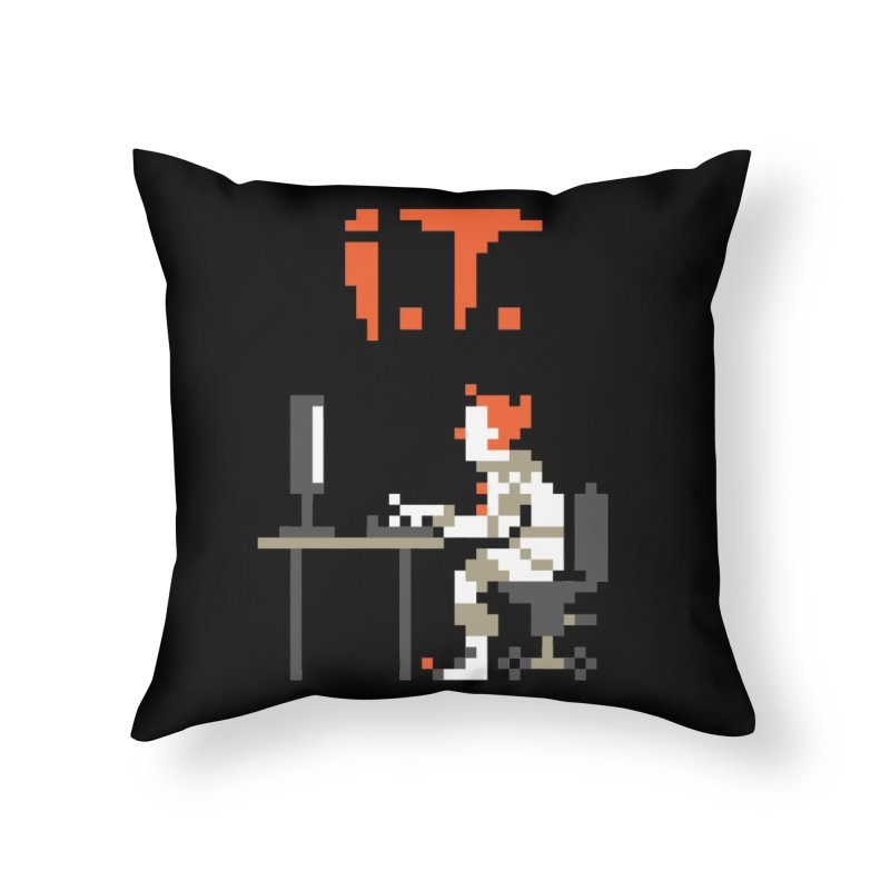 I.T. Home Throw Pillow by Mantichore Design