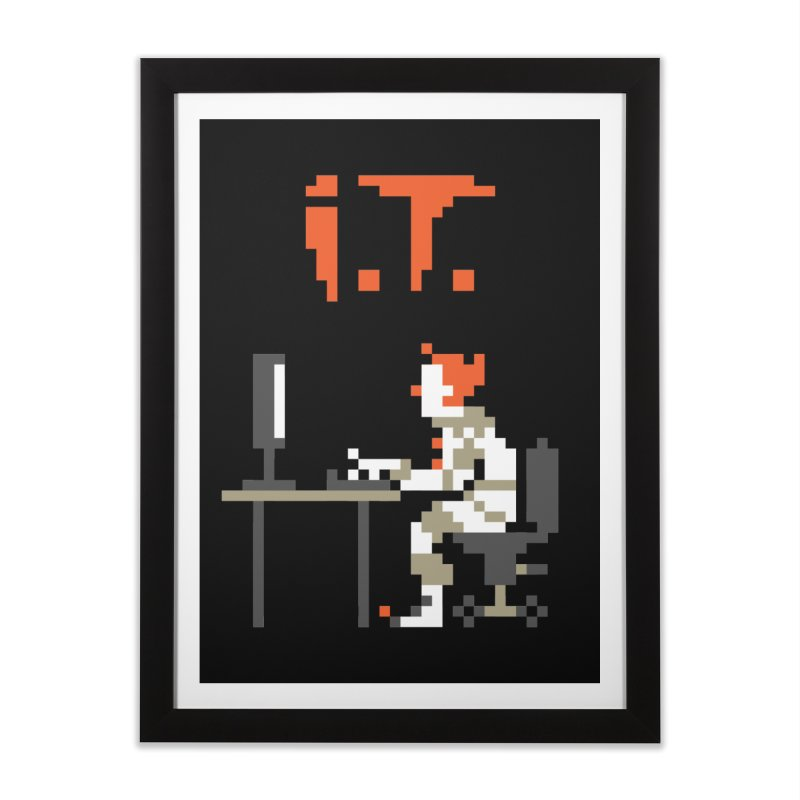 I.T. Home Framed Fine Art Print by Mantichore Design