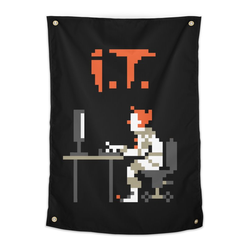 I.T. Home Tapestry by Mantichore Design