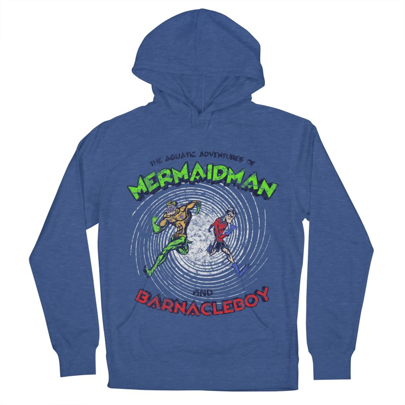 The aquatic adventures of mermaidman and barnacleboy Women's Pullover Hoody by Mantichore's Artist Shop