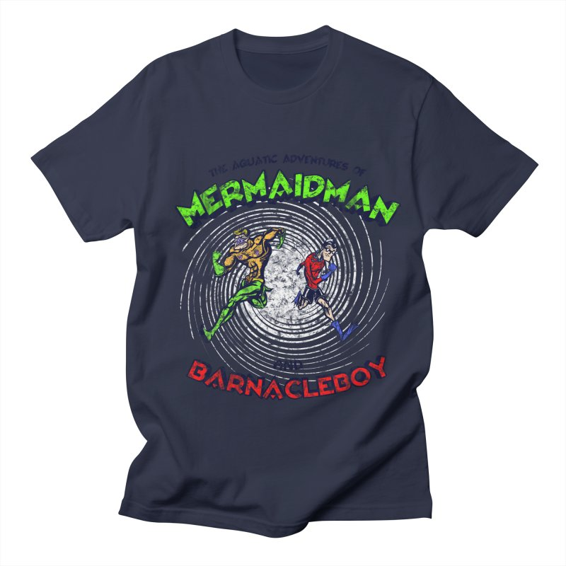 The aquatic adventures of mermaidman and barnacleboy Women's Unisex T-Shirt by Mantichore Design