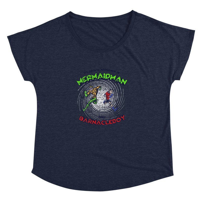 The aquatic adventures of mermaidman and barnacleboy Women's Dolman by Mantichore's Artist Shop