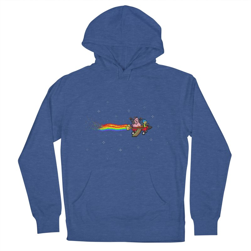 Nyanside Out Women's Pullover Hoody by Mantichore Design