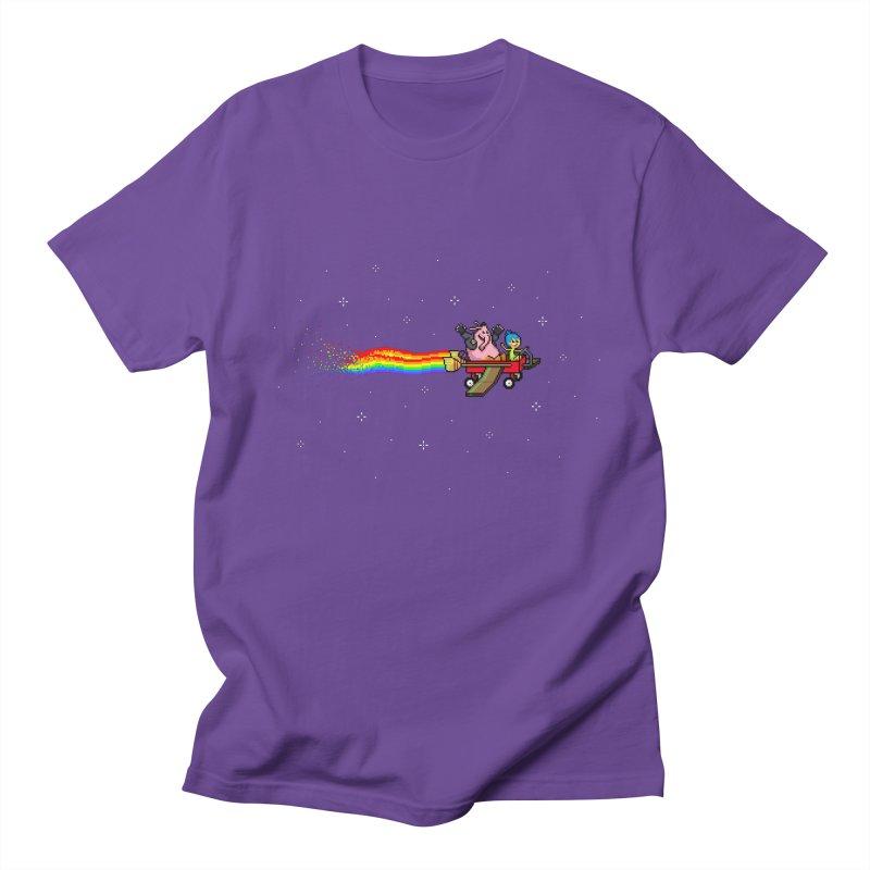 Nyanside Out Men's T-Shirt by Mantichore Design