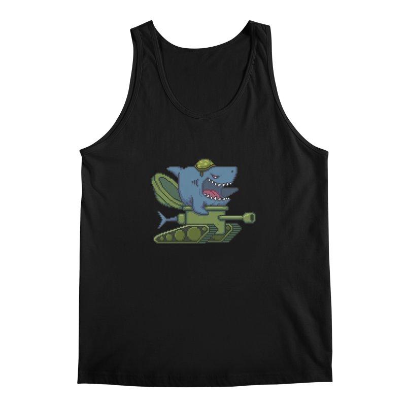 Shark Tank Men's Regular Tank by Mantichore Design