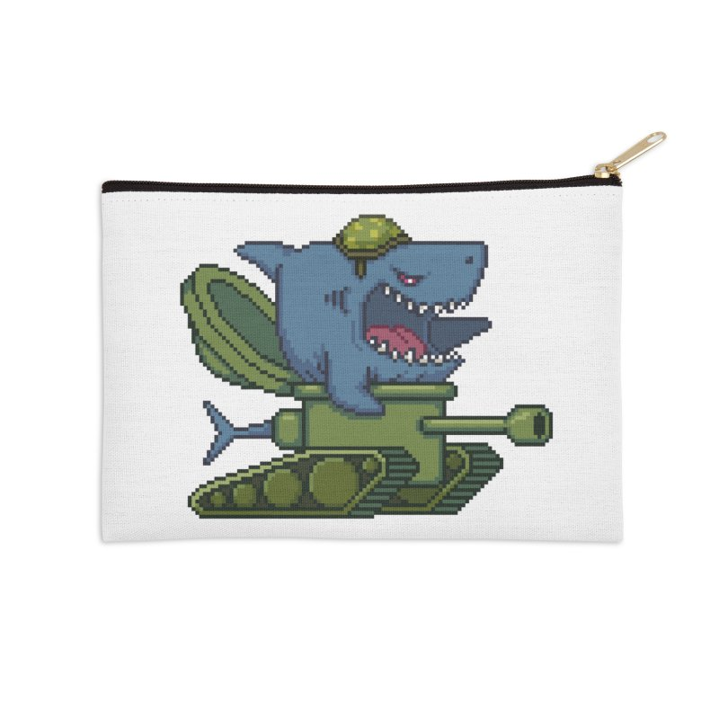 Shark Tank Accessories Zip Pouch by Mantichore Design