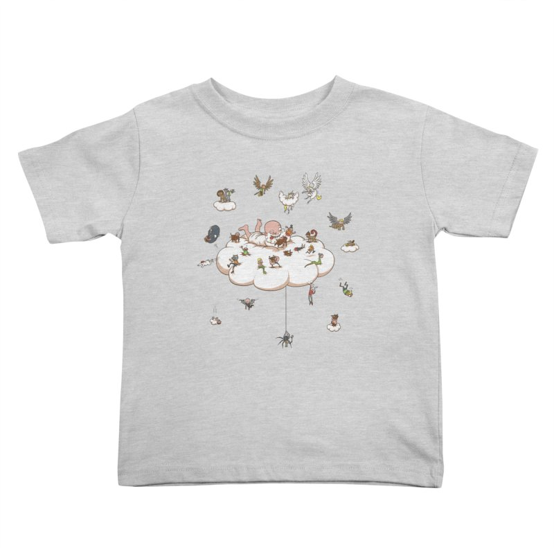 Creature Creator Kids Toddler T-Shirt by Mantichore Design