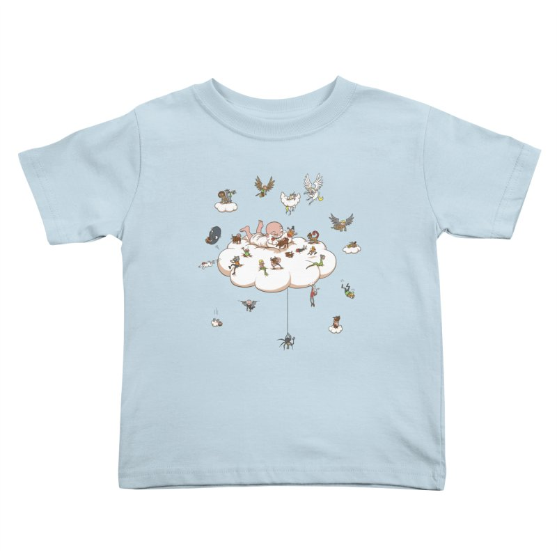 Creature Creator Kids Toddler T-Shirt by Mantichore's Artist Shop