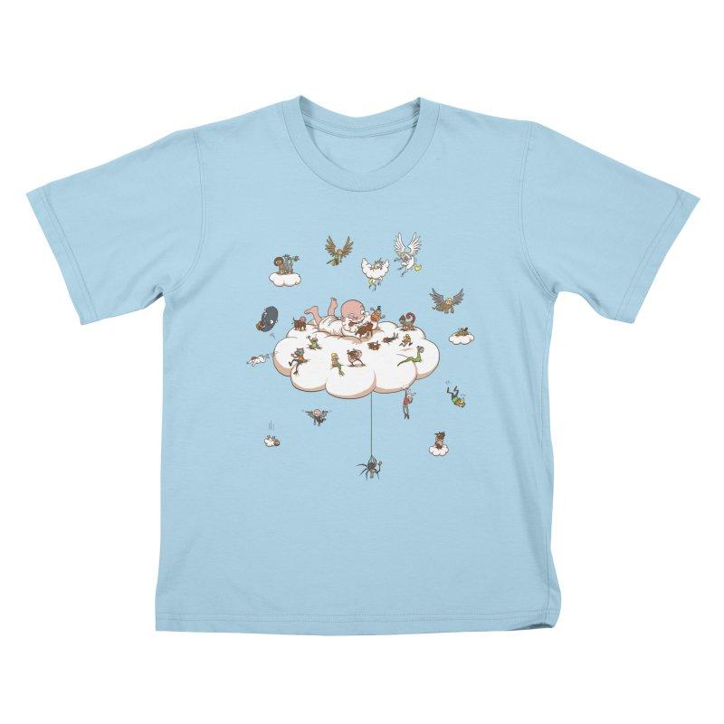 Creature Creator Kids T-Shirt by Mantichore Design