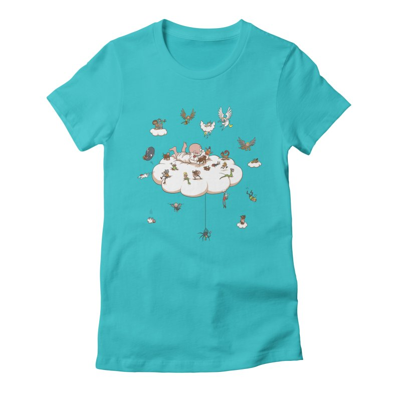 Creature Creator Women's Fitted T-Shirt by Mantichore Design