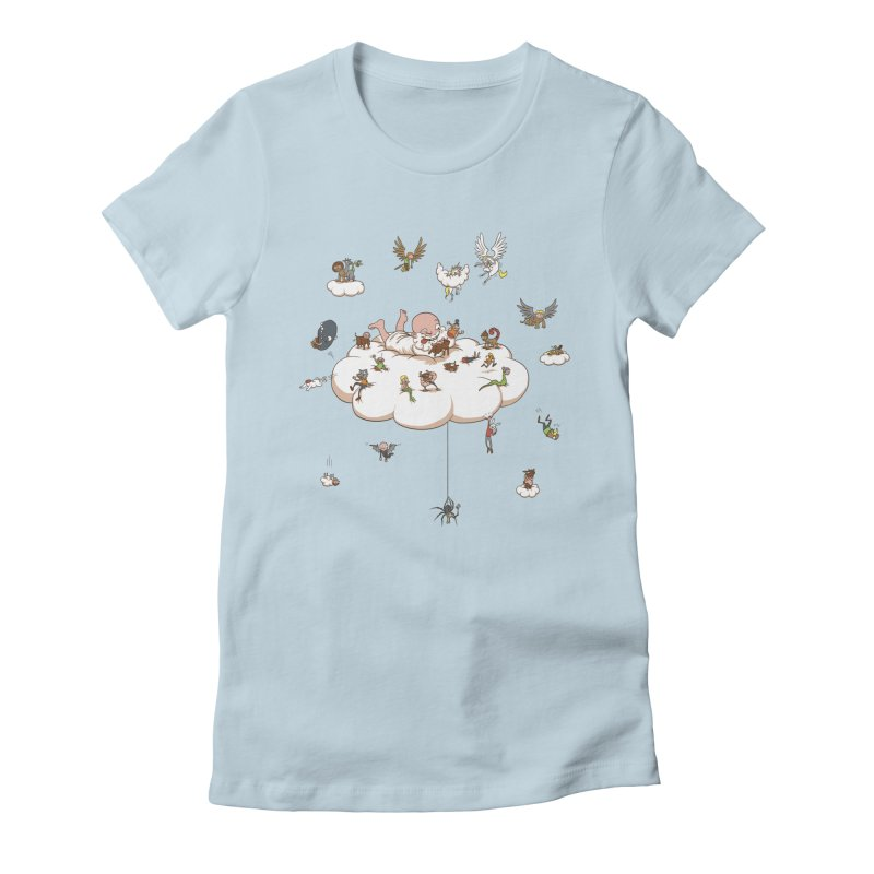Creature Creator Women's Fitted T-Shirt by Mantichore's Artist Shop