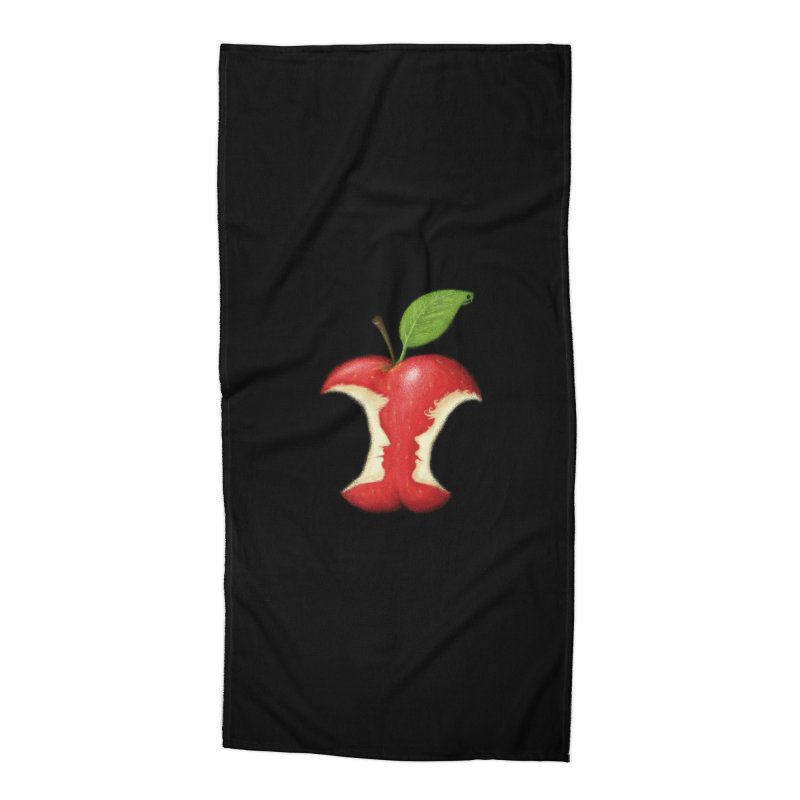 Original Sin Accessories Beach Towel by Mantichore Design