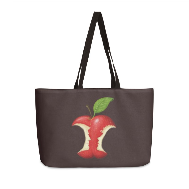 Original Sin Accessories Weekender Bag Bag by Mantichore Design