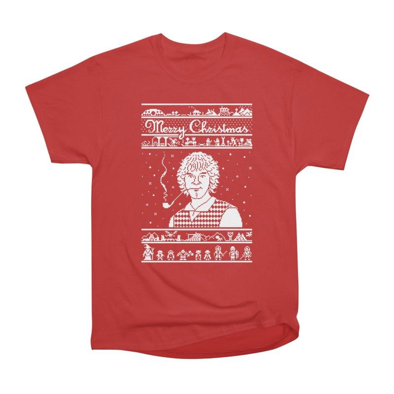 Merry Christmas Women's Heavyweight Unisex T-Shirt by Mantichore Design