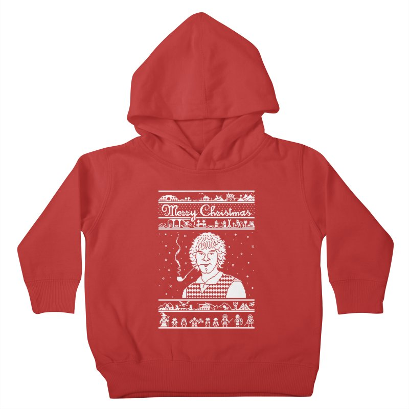 Merry Christmas Kids Toddler Pullover Hoody by Mantichore Design