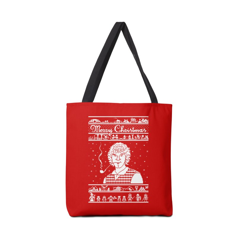 Merry Christmas Accessories Bag by Mantichore Design