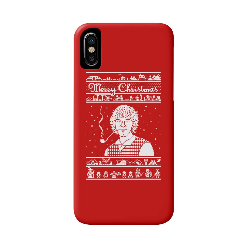 Merry Christmas Accessories Phone Case by Mantichore Design