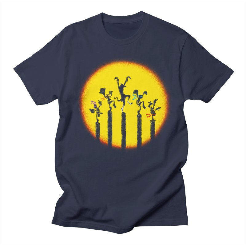 Teenage Mutant Karate Kids Men's Regular T-Shirt by Mantichore Design