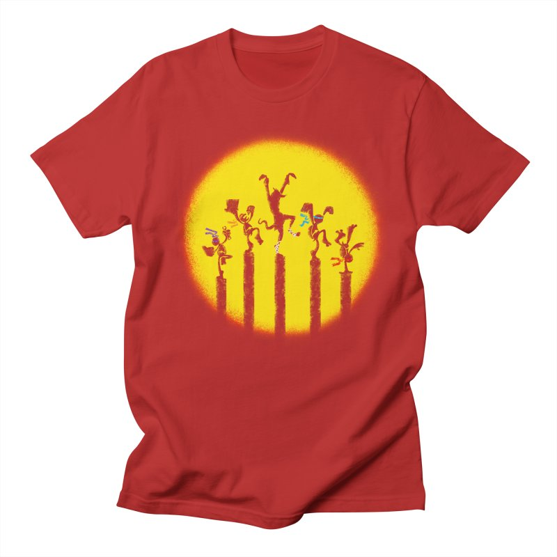 Teenage Mutant Karate Kids Men's T-shirt by Mantichore's Artist Shop
