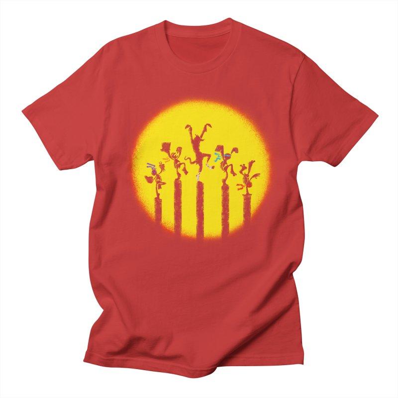 Teenage Mutant Karate Kids Men's T-Shirt by Mantichore Design