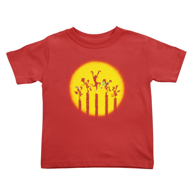 Teenage Mutant Karate Kids Kids Toddler T-Shirt by Mantichore's Artist Shop