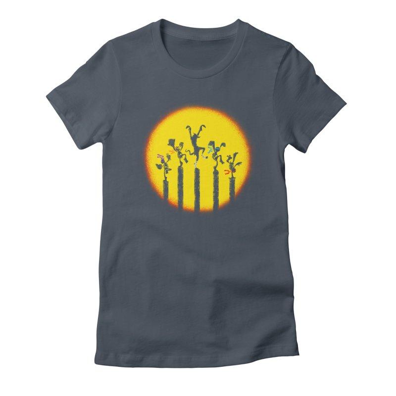 Teenage Mutant Karate Kids Women's T-Shirt by Mantichore Design