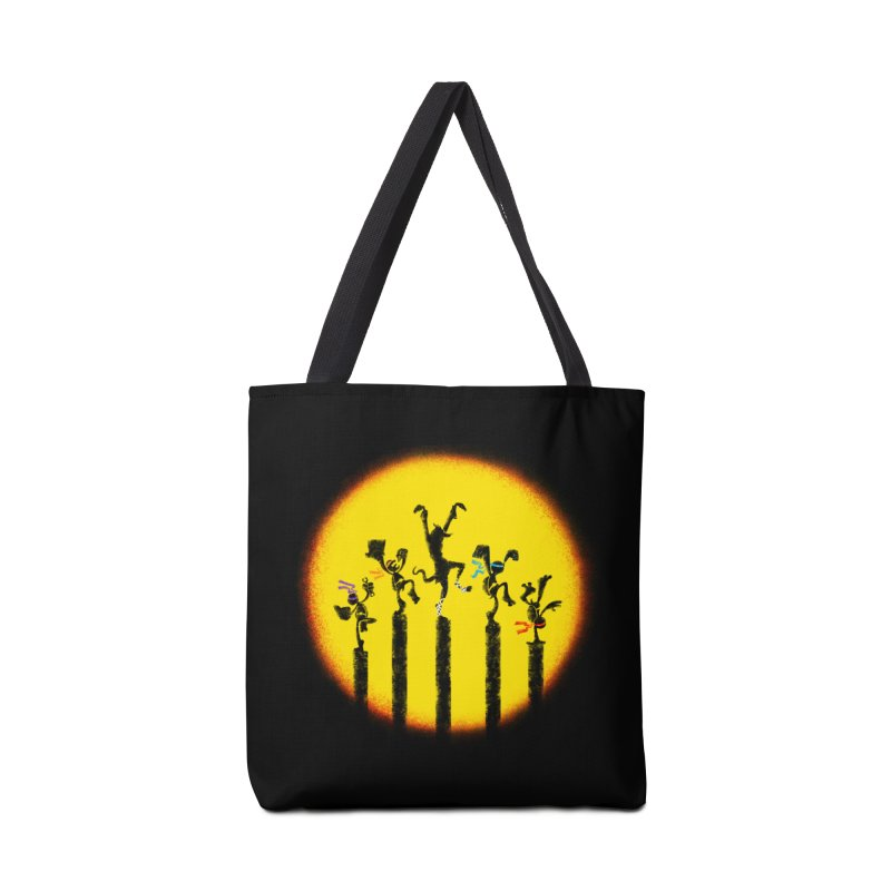 Teenage Mutant Karate Kids Accessories Tote Bag Bag by Mantichore Design