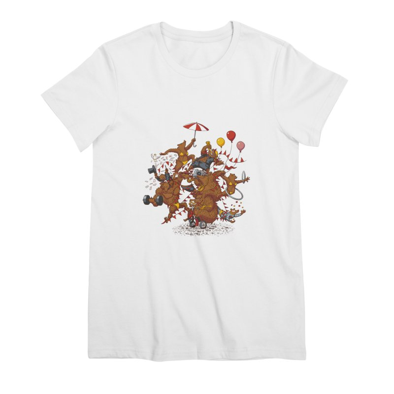 Ride free! Women's Premium T-Shirt by Mantichore Design
