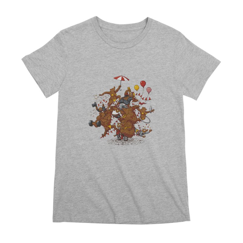 Ride free! Women's Premium T-Shirt by Mantichore Design