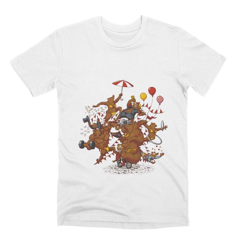 Ride free! Men's T-Shirt by Mantichore Design