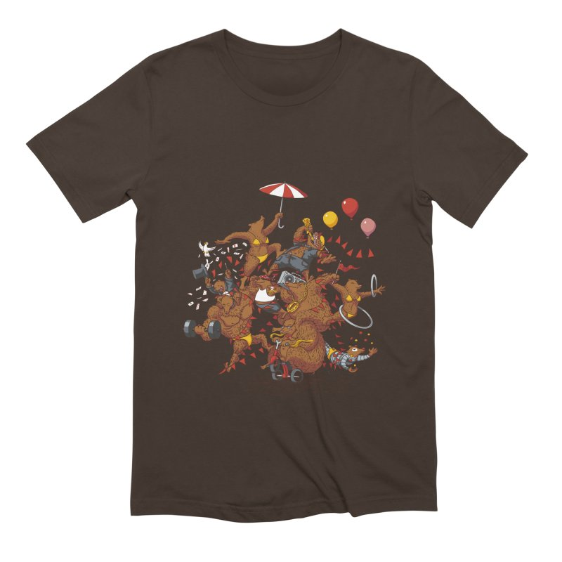 Ride free! Men's Extra Soft T-Shirt by Mantichore Design