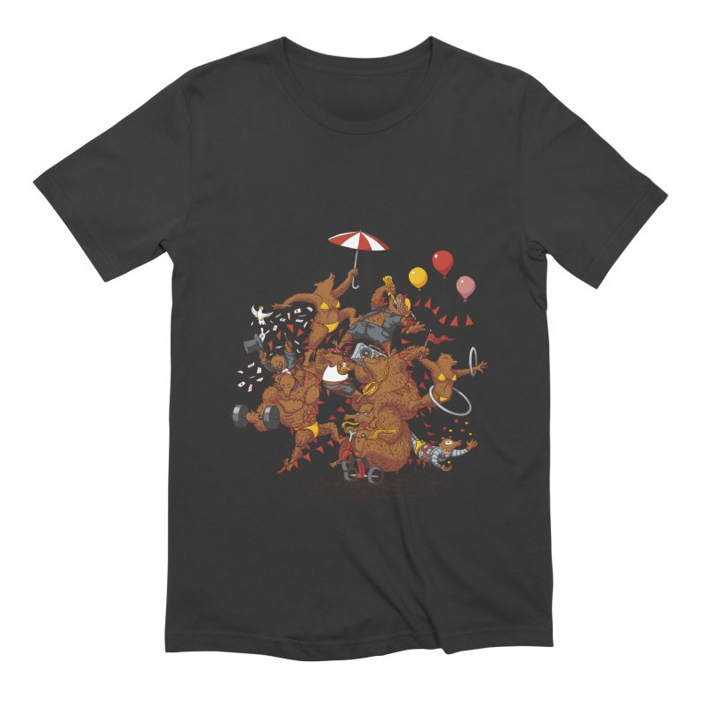 Ride free! Men's Extra Soft T-Shirt by Mantichore Design