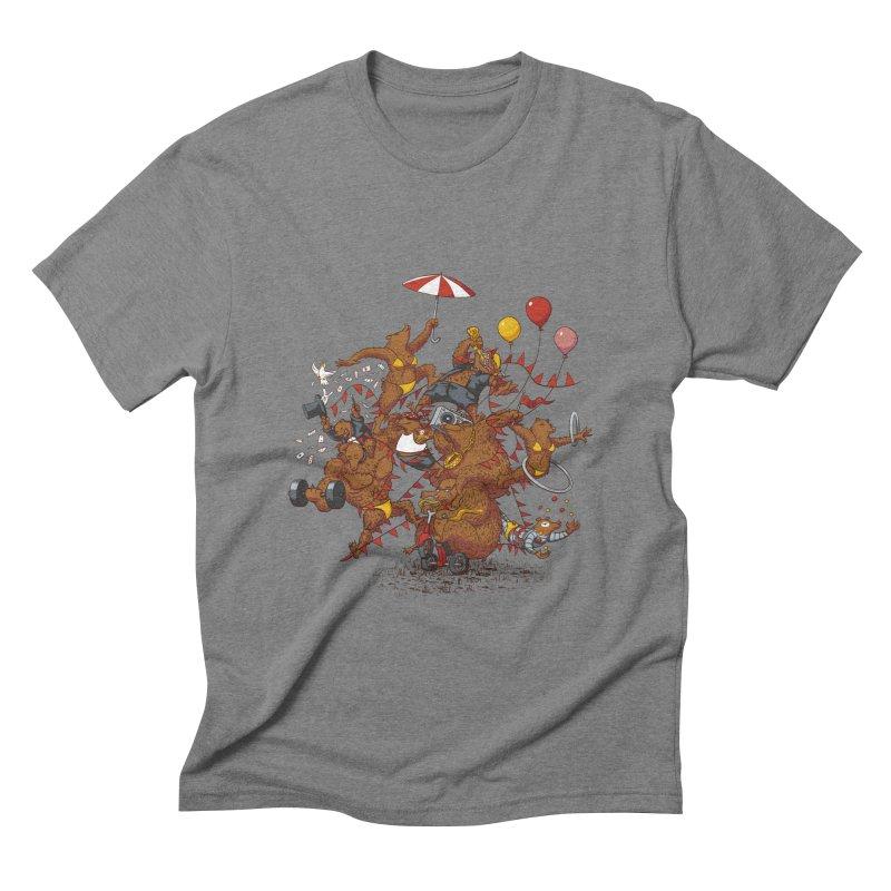Ride free! Men's Triblend T-Shirt by Mantichore Design