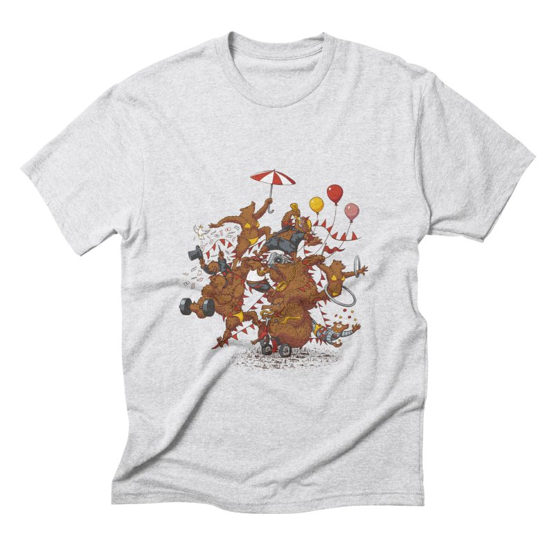 Ride free! Men's Triblend T-Shirt by Mantichore Design
