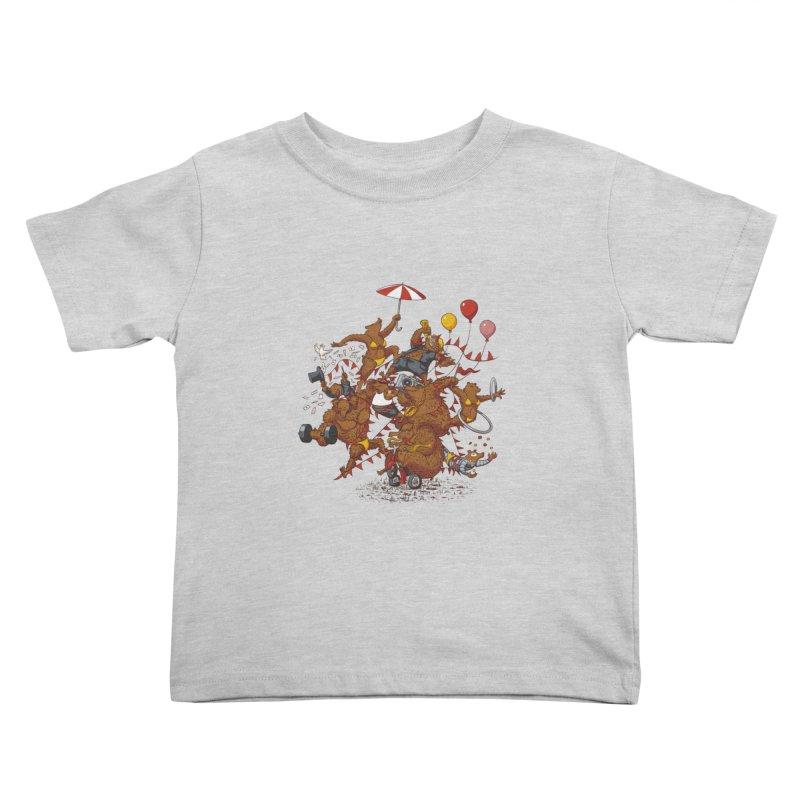 Ride free! Kids Toddler T-Shirt by Mantichore Design
