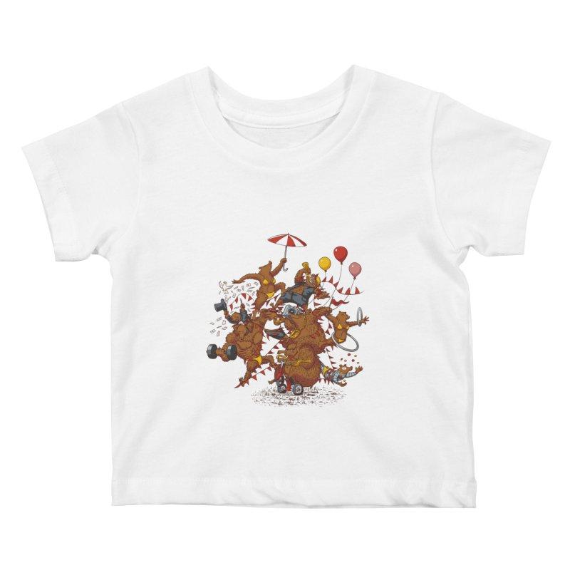 Ride free! Kids Baby T-Shirt by Mantichore Design