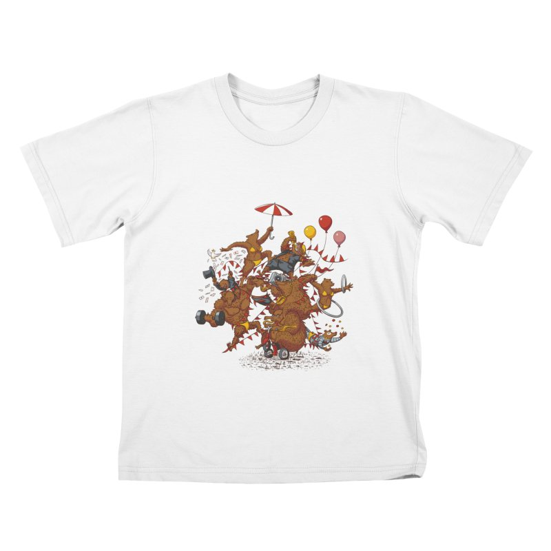Ride free! Kids T-Shirt by Mantichore Design