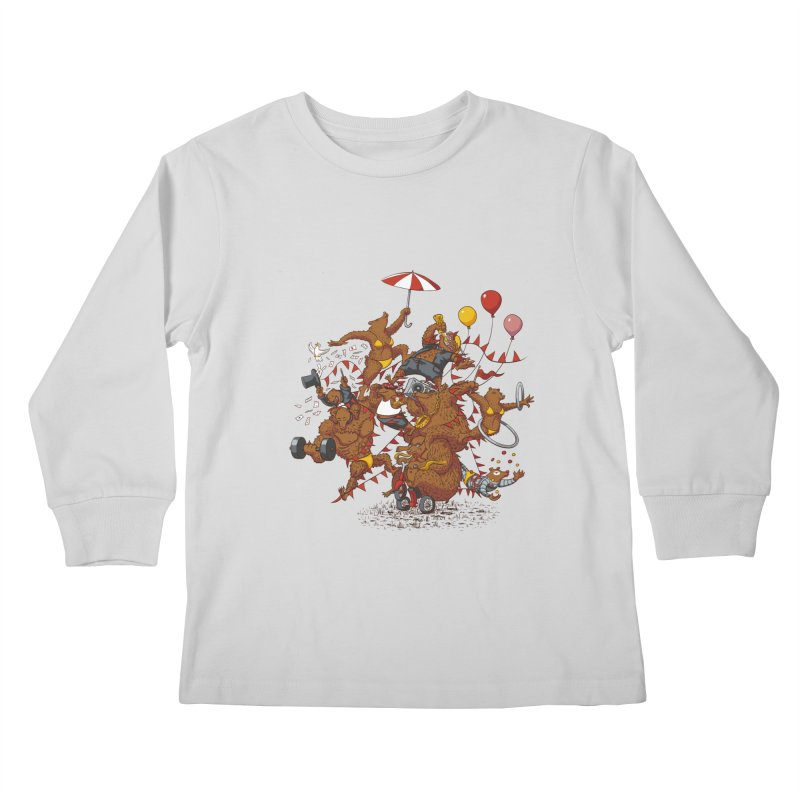 Ride free! Kids Longsleeve T-Shirt by Mantichore Design