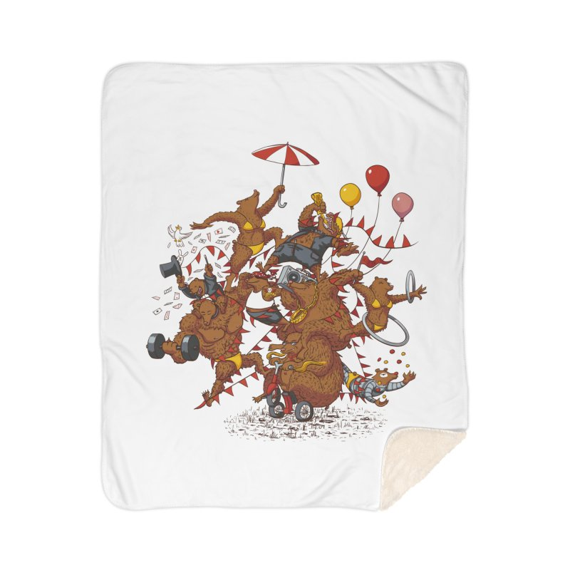 Ride free! Home Sherpa Blanket Blanket by Mantichore Design