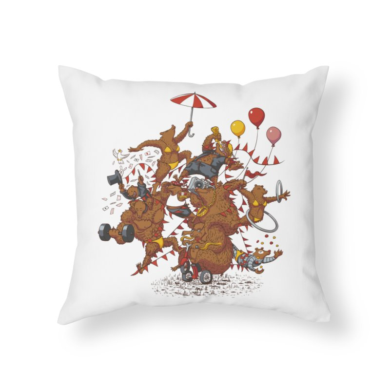 Ride free! Home Throw Pillow by Mantichore Design