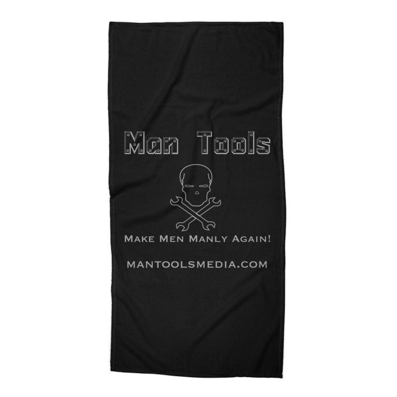 Make Men Manly Again! Accessories Beach Towel by Man Tools Merch