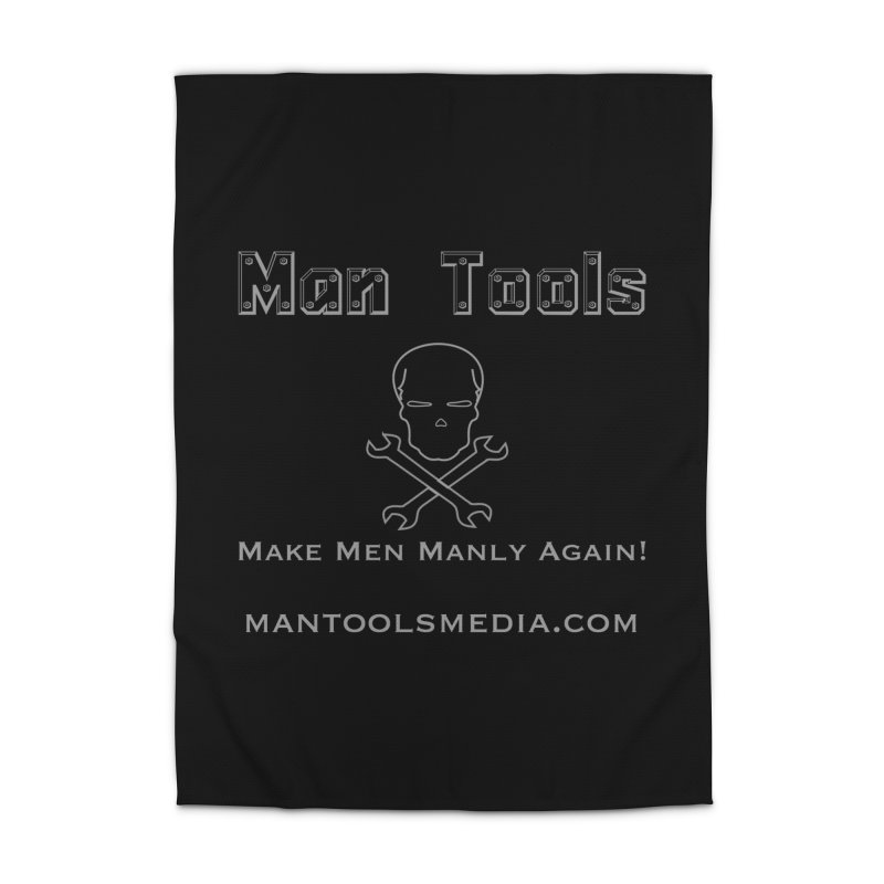 Make Men Manly Again! Home Rug by Man Tools Merch
