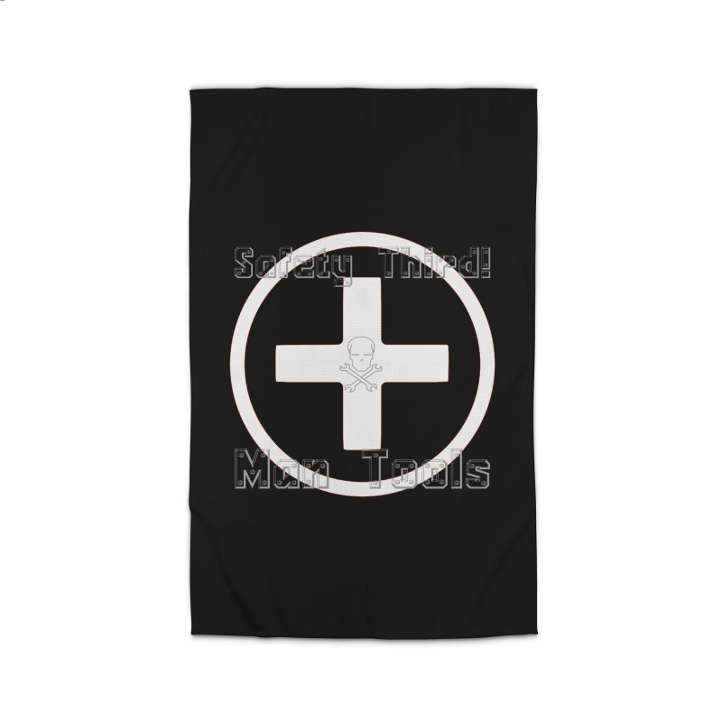 Safety Third! Home Rug by Man Tools Merch