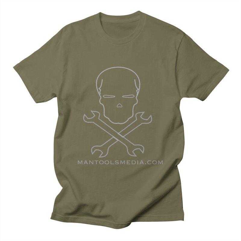 Skully Men's T-Shirt by Man Tools Merch