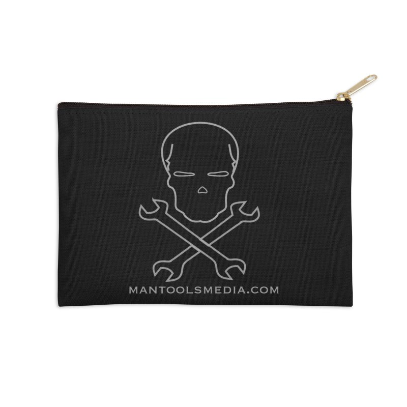Skully Accessories Zip Pouch by Man Tools Merch