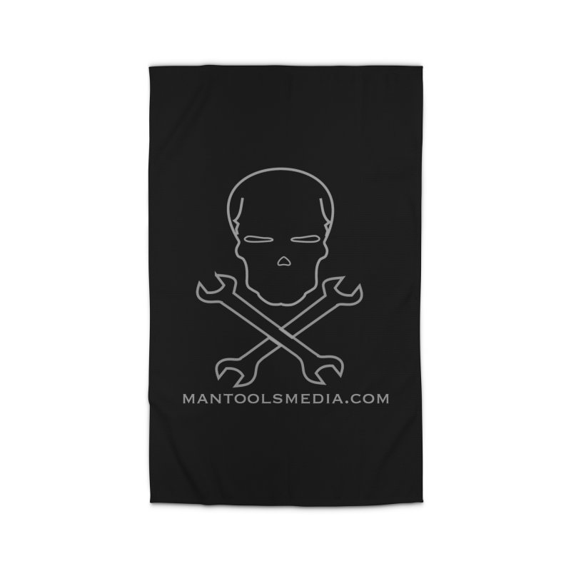 Skully Home Rug by Man Tools Merch