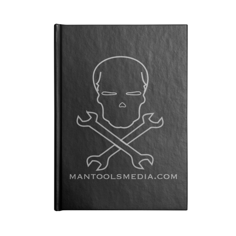 Skully Accessories Blank Journal Notebook by Man Tools Merch