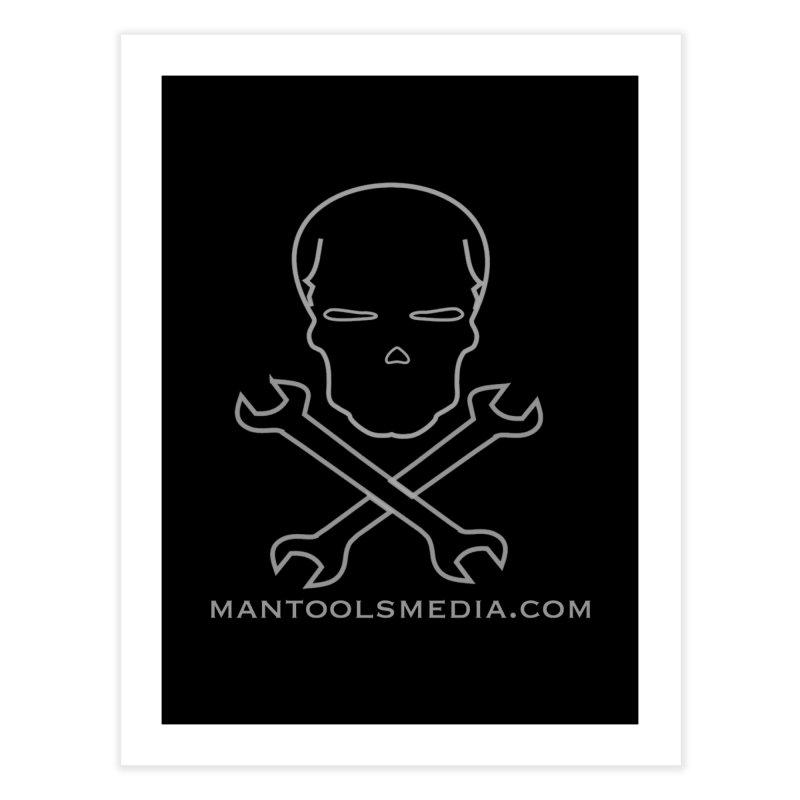 Skully Home Fine Art Print by Man Tools Merch