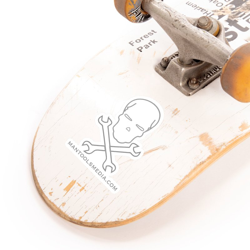 Skully Accessories Sticker by Man Tools Merch